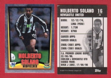 Newcastle United Norberto Solano Peru 16